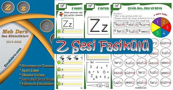 1.Sınıf İlkokuma Z Sesi Fasikülü