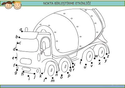 Beton kamyonu harfli nokta birleştirme etkinliği