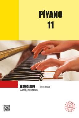 Güzel Sanatlar Lisesi 11.Sınıf Piyano Ders Kitabı pdf indir