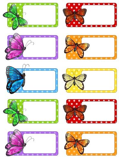 Kelebekli yaka kartı